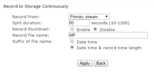 task-continuously-recording-parameters